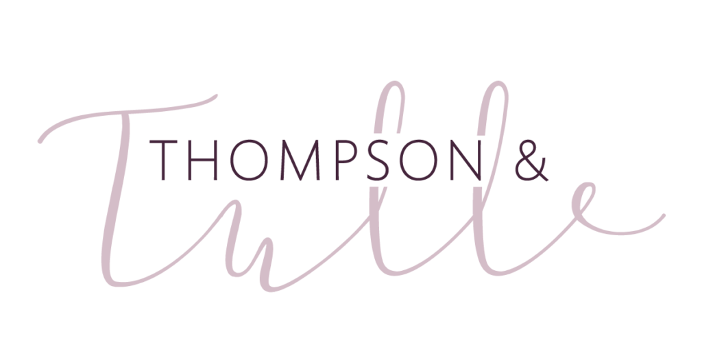 thompson and tulle large logo