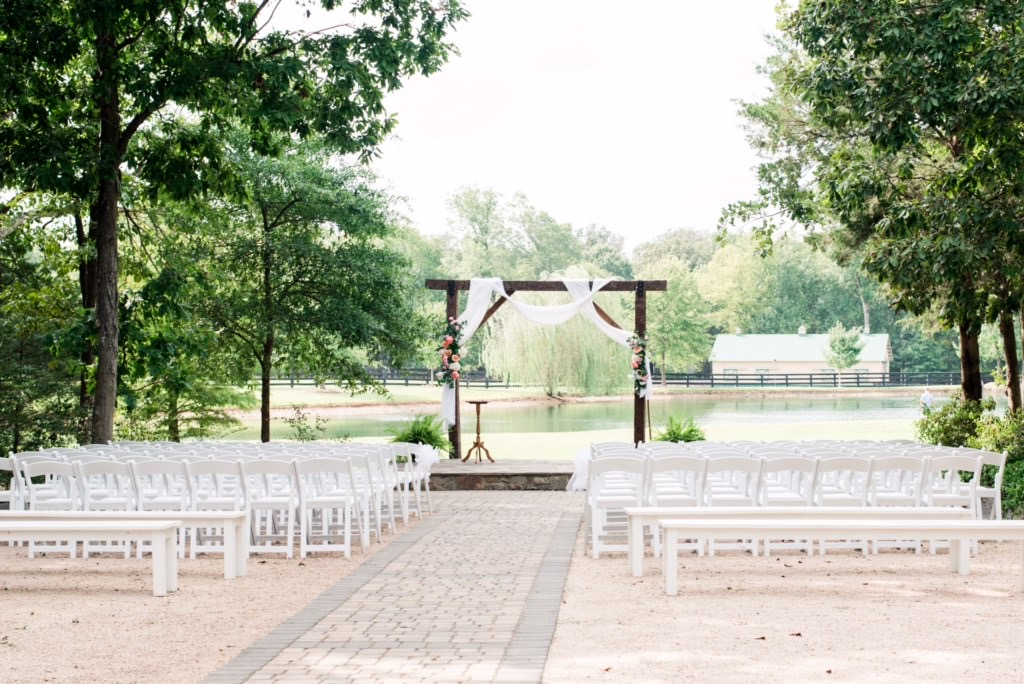 Ceremony set up design by Atlanta wedding planner